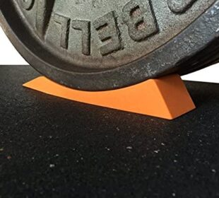 Dead Wedge The Deadlift Jack Alternative for Your Gym Bag - Raises Loaded Barbell & Plates for Effortless Loading/Unloading. Perfect for Powerlifting, Weightlifting, Crossfit, Home Gym & Deadlifts.