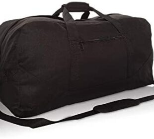 "DALIX 25"" Big Adventure Large Gym Sports Duffle Bag (Black Grey Navy Blue Red Camo)"
