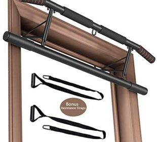 Fitheaven Pull Up Bar for Doorway no Screw Metal Champion arm Pull up bar overdoor Perfect Door Frame Wide Grip Pull-up bar Stand Home Gym