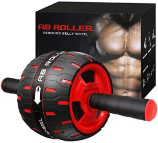 NANYNNU Ab Roller Wheel Abs Workout - Abs Roller Exercise Equipment,Ab Wheel Roller for Home Workout Equipment,Fitness Ab Roller for Core Workouts,Home Abdominal Exercise Equipment for Men & Women