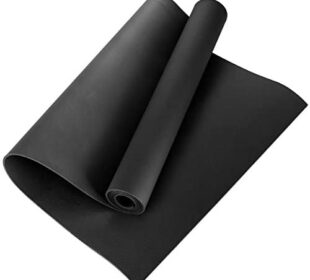 Qinhum Yoga Mat Exercise Mat EVA Non-Slip Fitness Workout Pad Yoga Meditation Accessory Tool for Gym Home Pilates