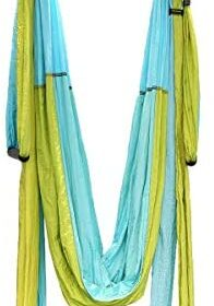 Yoga Swing Aerial Yoga Inversion Swing Yoga Hammock Kit Yoga Sling Set for Antigravity Exercise Inversion Tool for Home or Gym Fitness Hanging