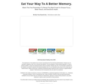 Improve Your Brain Memory Video Presentation