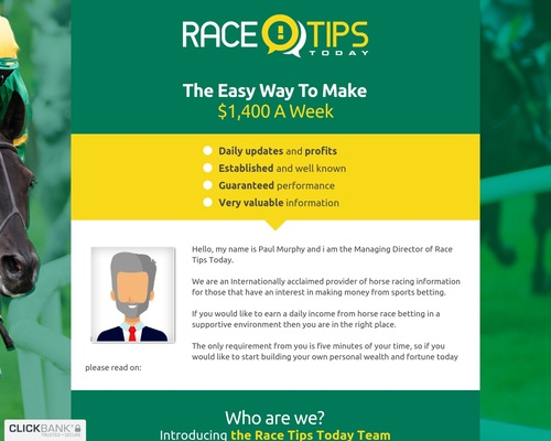 Race Tips Today
