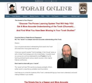 We Are Live CB – Torah Online