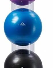 Black Mountain Products BMP Exercise Stability Ball Display Holder Set of 3