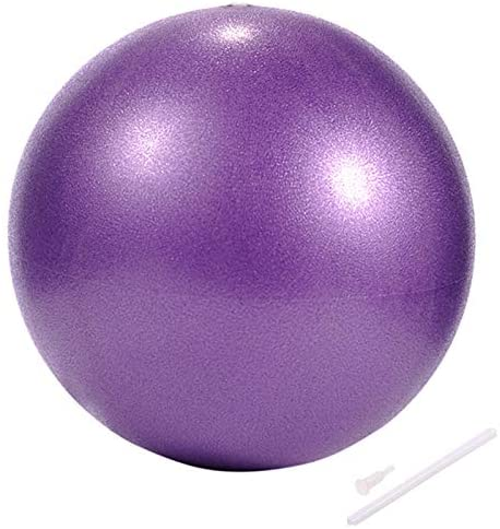 Myonly Physical Therapy Exercise Balls, Mini Exercise Ball with Pump, Small Bender Ball for Stability, Barre, Pilates, Yoga, Deep Tissue Massage, Core Training and Physical Therapy
