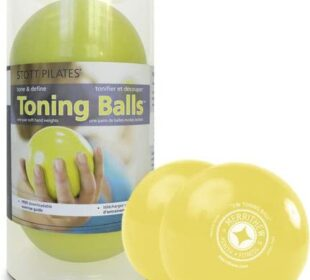STOTT PILATES Toning Ball, Two-Pack
