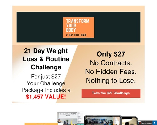 21 Day Transform You Body Challenge