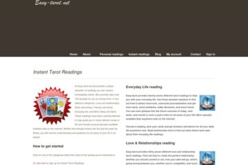 Tarot Reading Membership Site