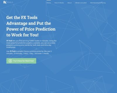 Fxtools - Forex Currency Price Prediction Software