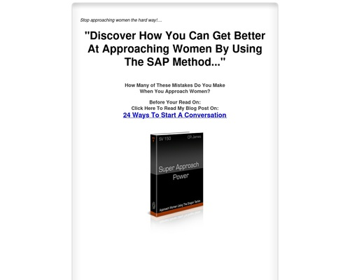 Approach Women Using The Dragon Tactics