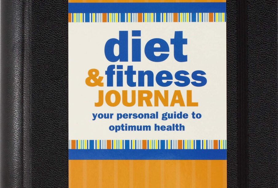 Diet & Fitness Journal (3rd Edition, now with removable cover band!)