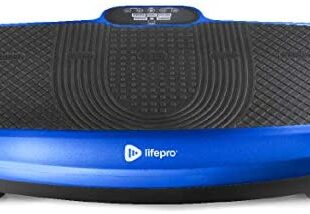 LifePro Turbo 3D Vibration Plate Exercise Machine - Dual Motor Oscillation, Pulsation + 3D Motion Vibration Platform | Full Whole Body Vibration Machine for Home Fitness & Weight Loss.
