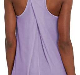 Mippo Workout Tops for Women Yoga Shirts Loose Fit Athletic Racerback Tank Tops Gym Clothes