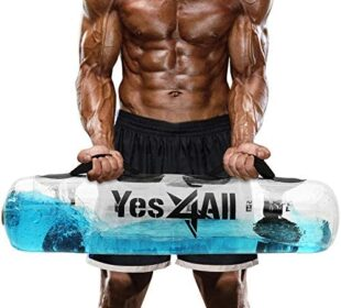 Yes4All Adjustable Aqua Training Bag with Air Pump – Available in 2 Sizes 45lbs & 80lbs