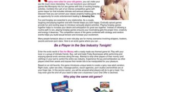 Frisky Business: Erotic Adult Board Games | Stripping Games | Sex Games