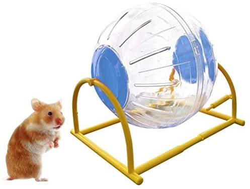 gutongyuan Hamster Mini Run-About Exercise Ball 5.9 inch Toy Transparent Hamster Ball Dog Special Toy Ball Small Animals Cage Accessories