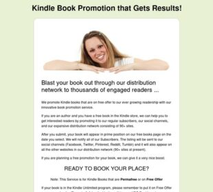 Kindle Book Promotion That Gets Results!