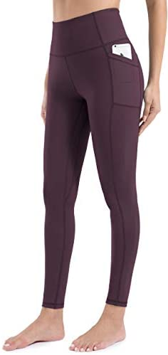 Athrock Yoga Pants for Women with 2 Pockets, Tummy Control, Soft Fabric, 100% Squat-Proof Workout Leggings