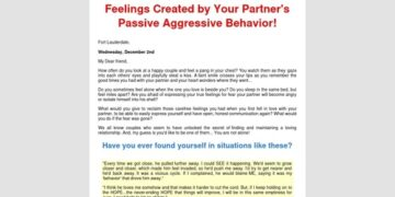 Passive Aggressive: Achieving Safety and Trust in your Relationships