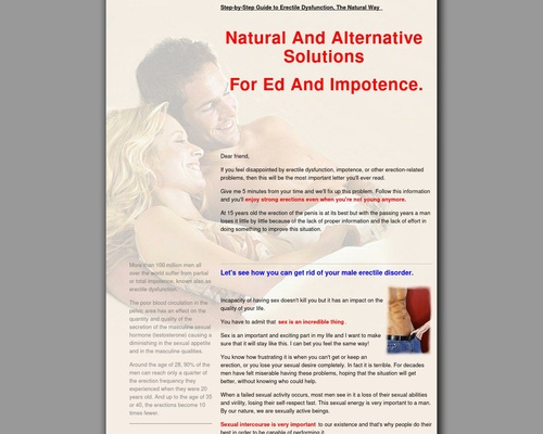 Nr.1 ~ Step by Step Guide to Erectile Dysfunction ~
