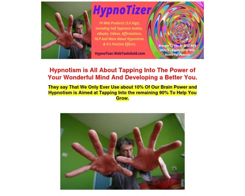 The Hypnotizer - Everything You Need For Self Hypnosis/guided Hypnosis