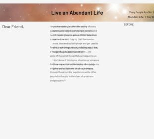 Live An Abundant Life Ebooks Pack