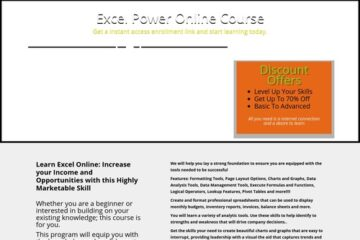 Clickbank Excel Deals | My Excel Power