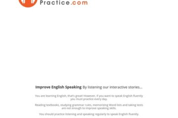 Listening Course To Improve Speaking » English Easy Practice