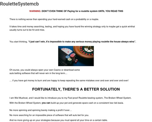 RouletteSystemcb - Scampiclaws.com