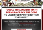 Pythagorean Betting System