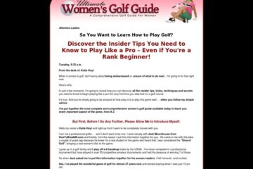Ultimate Women's Golf Guide