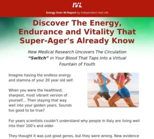 Energy Over 40 Special Report