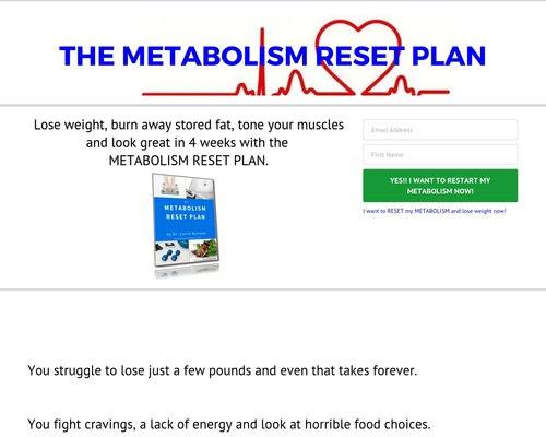 The Metabolism Reset Plan By Dr Carrie Burrows